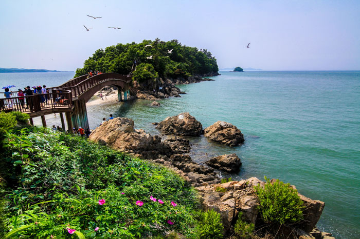The Haesol-gil Pathways of Daebudo Island are in Gyeonggi-do. (photo courtesy of the Korean Trails Culture Foundation)