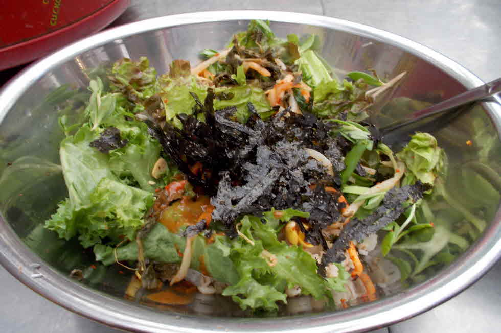 Gabose_Gwangjangmarket_Vegetable_bibimbap_24