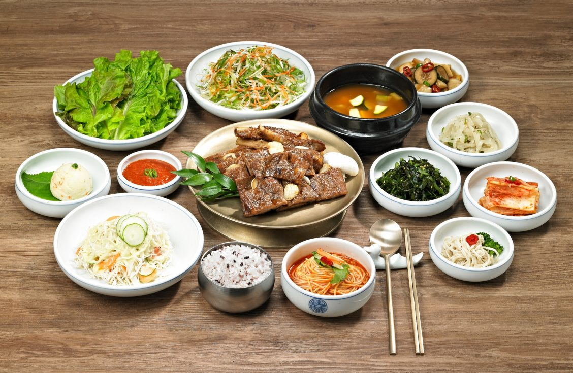 Set meal of Pork Galbi